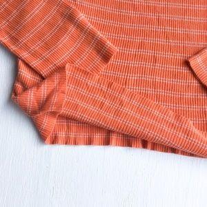 J. Crew Sweaters - J. Crew - Orange, Vintage Style, Long Sleeve Shirt